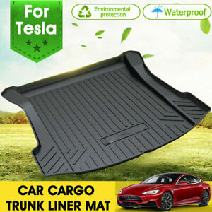 Rear Front Cargo Trunk Toolbox Luggage Tray Mat Boot Liner for Tesla Model 3