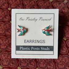 Bird Earrings-Swallow-Tattoo