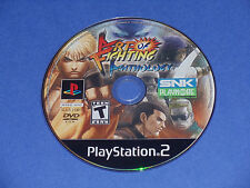 Art of Fighting Anthology (Sony PlayStation 2) PS2 game disc only Rated T Teen