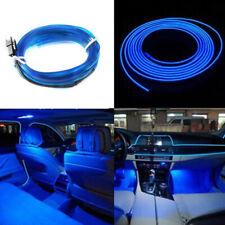 1pcs 2M 12V Car SUV Dashboard Blue Neon Atmosphere Light Lamp Strip Accessories