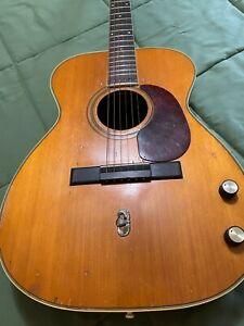 Vintage 1969 Harmony Sovereign H55 Acoustic/Electric