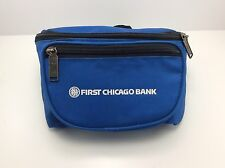 NEW Vintage Bank of Chicago Fanny Pack, waist pouch, waist bag Travel Vacation