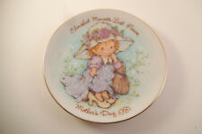 Vintage 1981 Avon Mother's Day Collector Plate Cherished Moments Last Forever