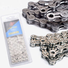 Bicycle Chain 9 10 11 Speed Super Light for MTB Road Bike Bicycle 116L Silver
