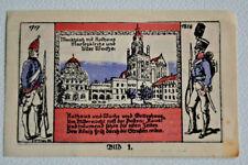 STARGARD (Pom/Polen:Szczeciński) 1 Mark Notgeld Kolberger Grenadiere Bild:1(3280