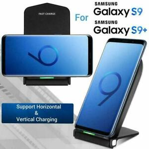 Qi Wireless Charging Stand for Samsung Galaxy S9 S9 Plus Charger Dock Stand