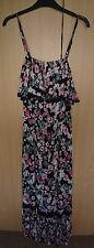 NEW GEORGE GYPSY STYLE FLOWER PRINT MAXI DRESS SIZE 10 BUT SIZE 12 COULD WEAR