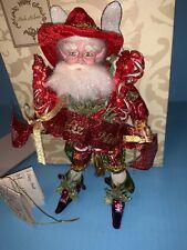 Mark Roberts Feliz Navidad Fairy Small 9.5� 51-12522 Rare ltd ed cert of auth