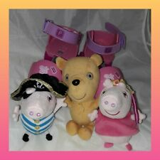 Peppa Pig Bundle Kids soft plush toy Skates childrens stocking filler xmas