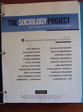 The Sociology Project: Introducing the Sociological Imagination by Pearson 2012
