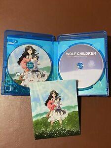 Wolf Children SERIE COMPLETA Blu-ray Limited + Manga Omnibus Prima Edizione
