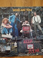 The Who, Who Are You Vinyl 1978