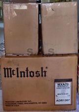 MCINTOSH MXA70 LIFESTYLE INTEGRATED MUSIC SYSTEM - UNUSED & 100% COMPLETE!!!