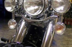 Yamaha Virago V-Max Road Royal V-Star VStar 650 1100 CLEAR TURN SIGNAL LENSES
