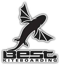 "Best Kiteboarding Kite Kiteboard Surfing Car Bumper Window Sticker Decal 4.1""X5"""