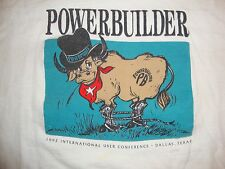 Vintage Powerbuilder International User Conference Dallas TX T Shirt Size XL