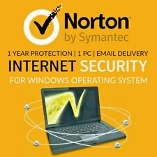 Norton Internet Security 2018 Anti-Virus 1 PC 1 Year Activation Key
