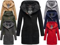 Marikoo Damen Mantel Trenchcoat Winter FVS1 Herbst Jacke Parka Business MAIKOO