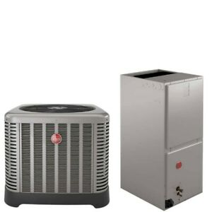 4 Ton Rheem 14 SEER Air Conditioner Split System