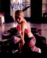 Kristy Swanson autographed signed auto Buffy the Vampire Slayer 8x10 movie photo