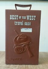 vintage Johnny West , Marx , Best of the West Travel Case .