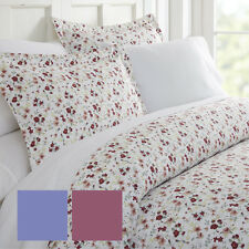 Ultra Soft 3 Piece Blossoms Print Duvet Cover Set - Hotel Collection by iEnjoy