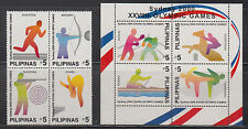 Philippine Stamps 2000 Sydney Olympics Complete set MNH