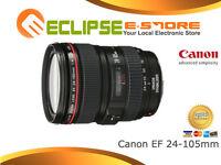 New Canon EF 24-105mm f/4 L IS USM Lens F4L 24-105 mm Super Deal