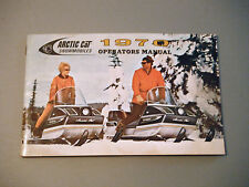 1970 Vintage Arctic Cat Snowmobile Owner's / Operator's Manual