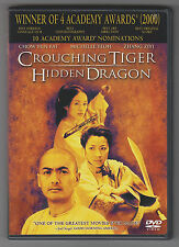 Crouching Tiger, Hidden Dragon (Dvd, 2001, Widescreen)