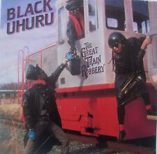 "BLACK UHURU - Great Train Robbery ~ 12"" Single PS"