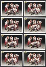 Lot of 8 1991-92 Upper Deck #SP1 Wayne Gretzky/ Hull/ Kamensky hockey cards HOF