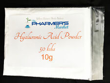 **HALF PRICE SALE**10 Grams 50 kDa Hyaluronic Acid Powder Best Before June 2018