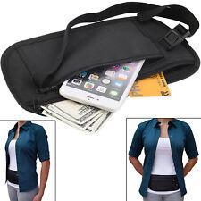 Bum Bag Money Travel Waist Belt Fanny Pack Pouch Festival Leather Money Wallet