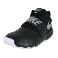 NIKE TEAM HUSTLE D 8 (PS) BLACK SILVER WHITE 881942 001 KIDS US SIZES