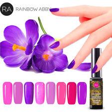 RA Gellack UV LED Gel Nagellack Nail Polish Nagegel Gel Lacke Maniküre Lila Rosa
