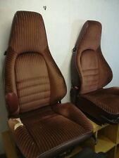 PORSCHE 911 944 Rare Deep Bolster Recaro Sports Seats - VW Golf Mk1 Mk2 Camper
