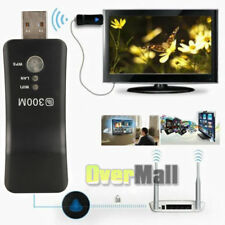 Wireless Smart TV WiFi Card TV WiFi Adapter USB RJ45 WPS 300Mbps for Network USA