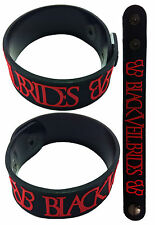 BLACK VEIL BRIDES NEW! Rubber Bracelet Wristband  aa1 Red,Black Knives And Pens
