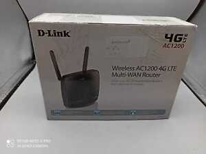 UNTESTED D-Link Wireless AC1200 4G LTE Router, 4G/3G (OFFERS WELCOME)