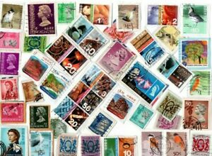 A LOVELY MIX OF KILOWARE STAMPS FROM HONG KONG inc HVs