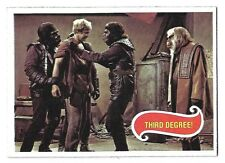 PLANET OF THE APES MOVIE CARD NO 36 THIRD DEGREE! TOPPS NRMINT 5122
