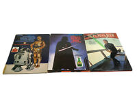 Vintage Star Wars, Return Of The Jedi, & The Empire Strikes Back Storybook Set