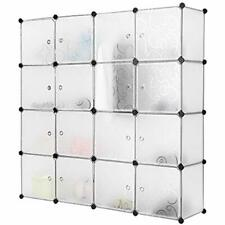 Lot 16 Cube Closet Portable Storage Organizer Rack Cabinet Shelve DIY Book Shoes