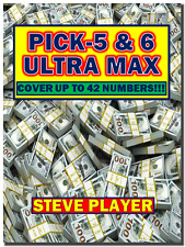 Steve Player's Ultra Max Pick- 5 & 6 Winning Lottery Systems