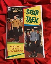 STAR TREK 100 PAGE SPECTACULAR~KIRK SHATNER NIMOY SPOCK PHOTO COVER~NM