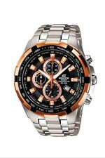 New Casio Edifice EF-539D-1A5V Men's Sport Watch Chronograph Display date Bronze