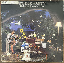 New listing WORLD PARTY VINYL LP — PRIVATE REVOLUTION