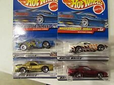 Hot Wheels Lot of (4) Mustang Cobra Types!! All Different