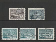 FINLAND - 1942 - 50mk & 100mk - 5 X  USED STAMPS